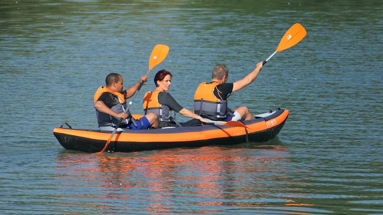 3 man canoe