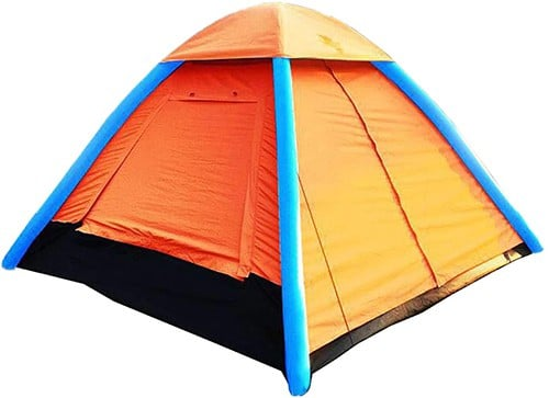 ihuniu 4 person inflatable camping air pop up tent​