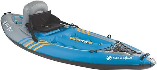 three man kayaking